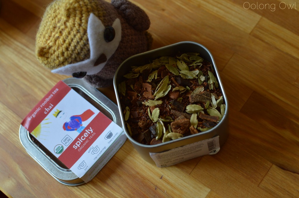 spicely tea infused chocolates and chai rooibos - oolong owl tea review (9)