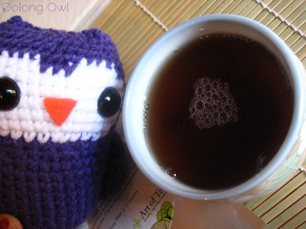 99 Oxidized Purple Oolong from Art of Tea - Oolong Owl Tea Review (7)