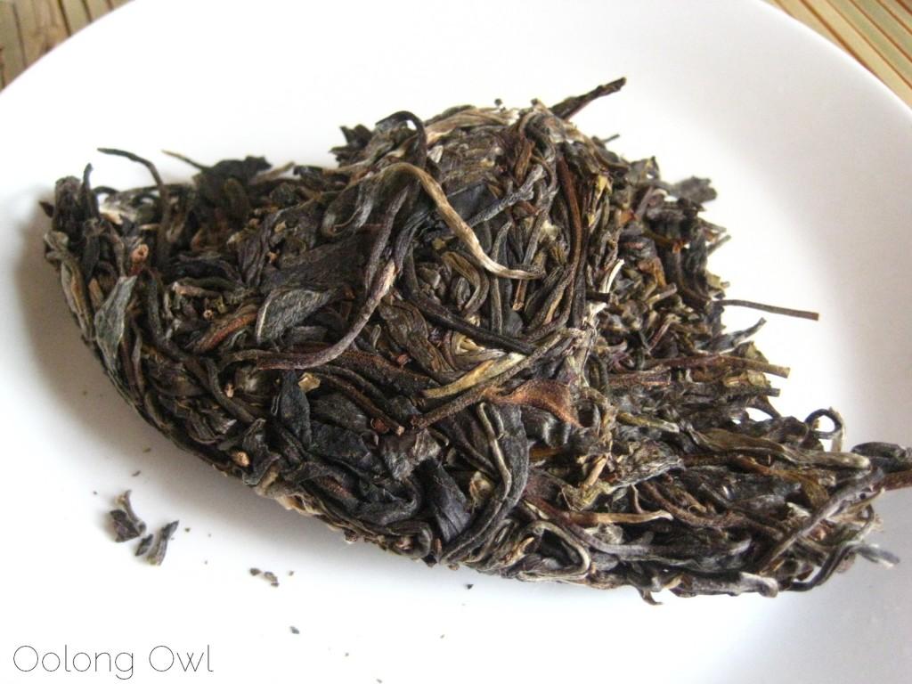 Autumn 2012 Sheng Pu er from Misty Peak Teas - Oolong Owl Tea Review (1)