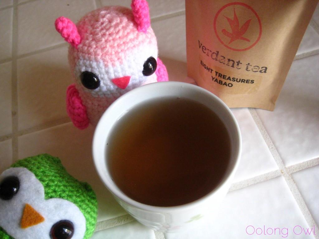Eight Treasures Yabao from Verdant Teas - Oolong Owl tea review (10)