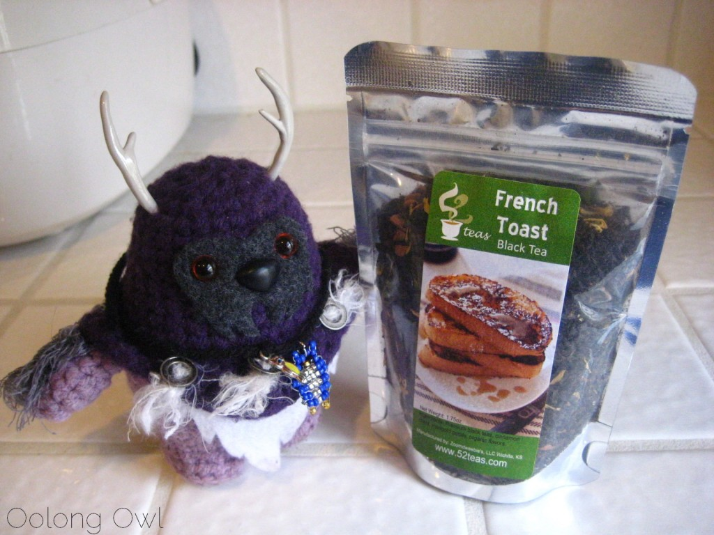 French Toast Black Tea from 52 Teas - Oolong Owl Tea Review (1)
