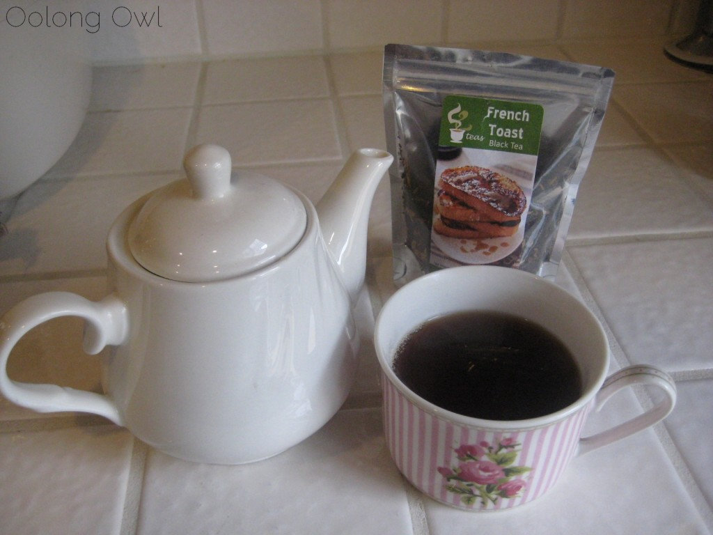 French Toast Black Tea from 52 Teas - Oolong Owl Tea Review (5)