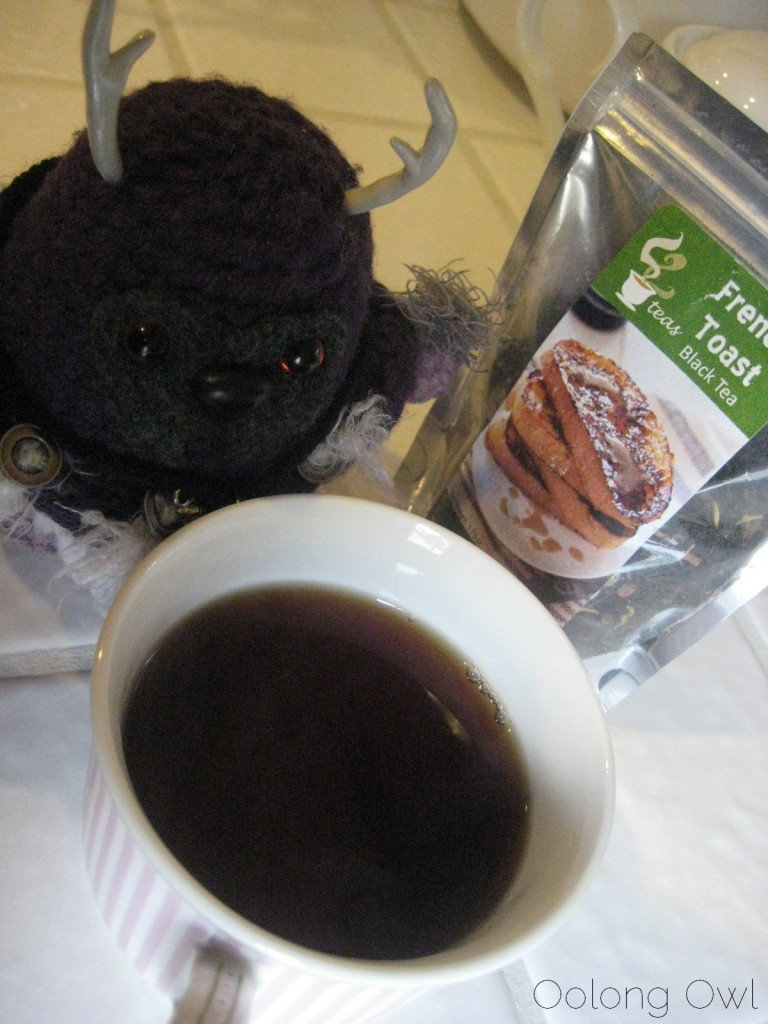 French Toast Black Tea from 52 Teas - Oolong Owl Tea Review (8)