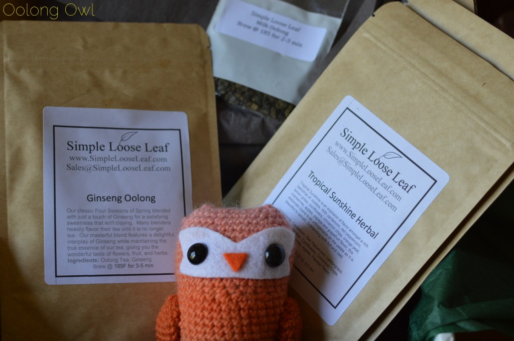 July Simple Loose Leaf selection club - oolong owl (1)