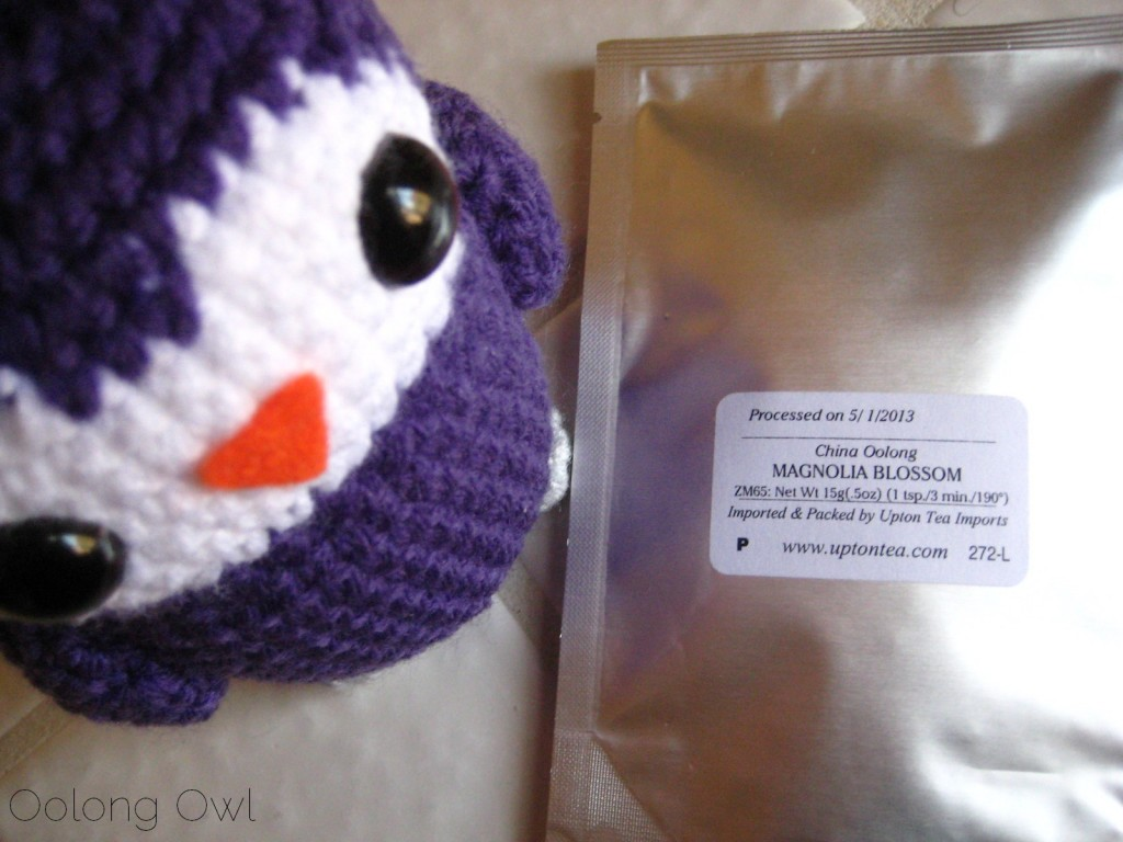 Magnolia Blossom Oolong from Upton Tea Imports - Oolong Owl Tea Review (1)