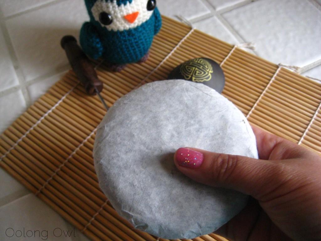 Mandala Tea Silver Buds Raw Puer 2012 - Oolong Owl Tea Review (2)