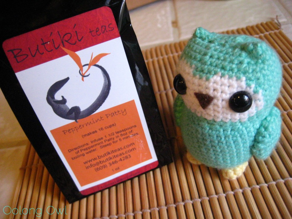 Peppermint Patty from Butiki Teas - Oolong Owl Tea Review (1)