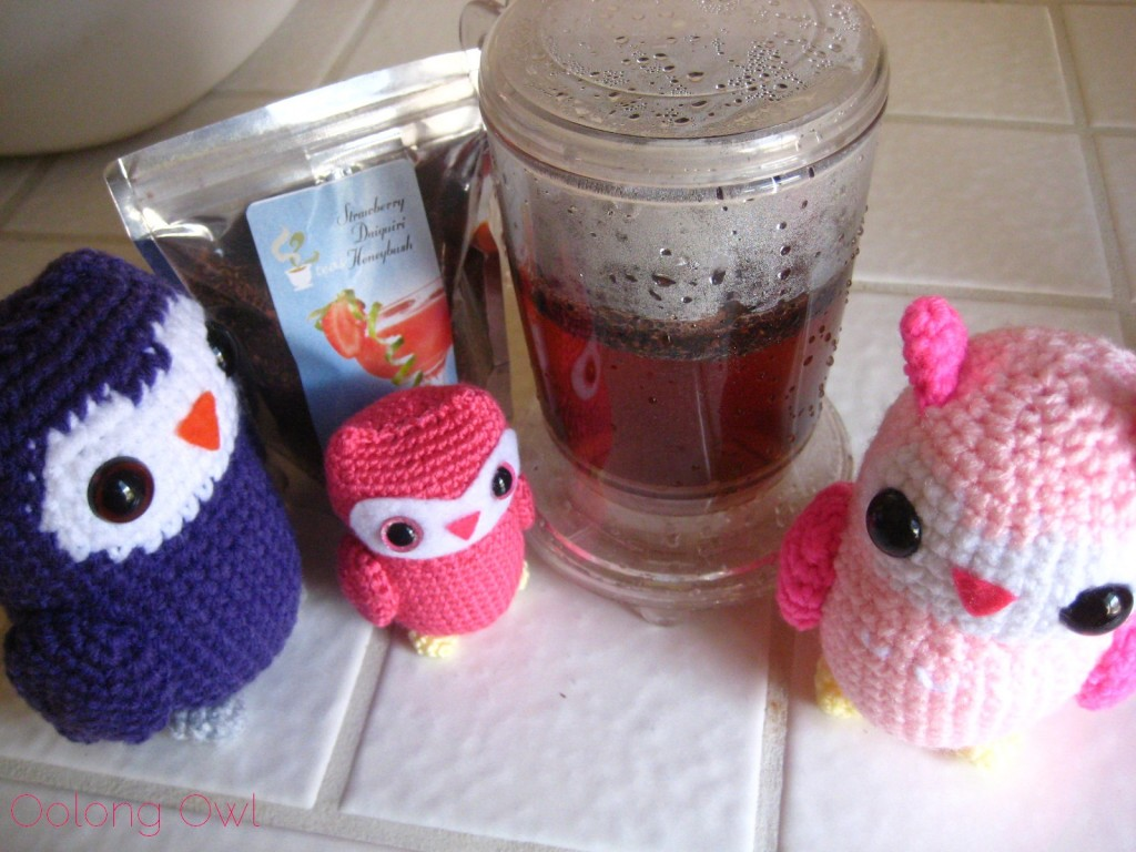 Strawberry Daiquiri Honeybush from 52 Teas - Oolong Owl Tea Review (4)