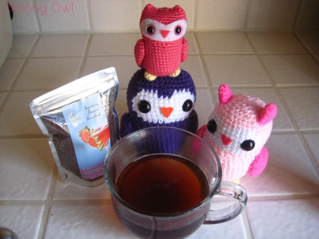 Strawberry Daiquiri Honeybush from 52 Teas - Oolong Owl Tea Review (5)