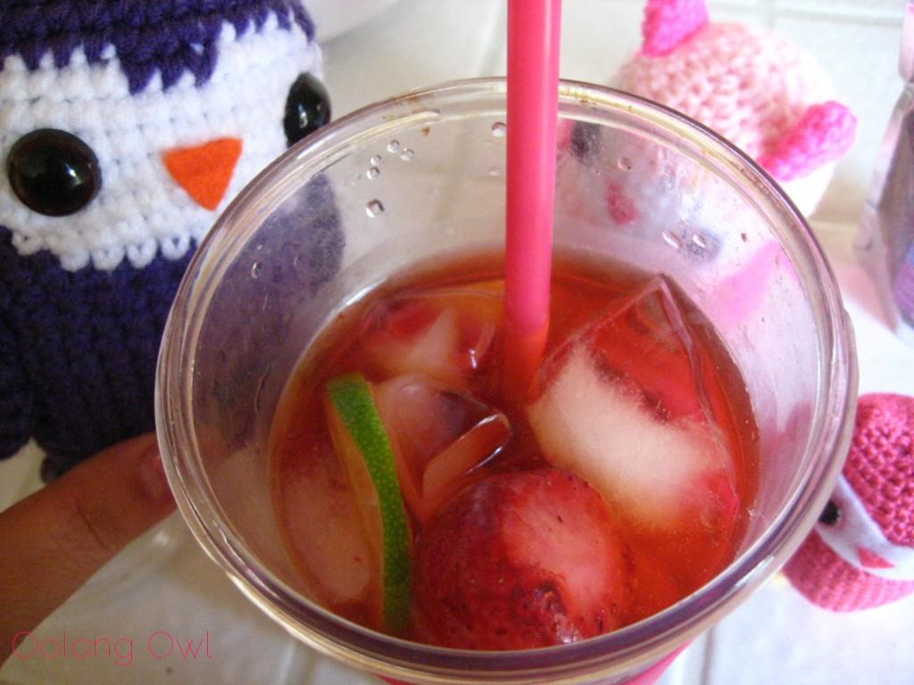 Strawberry Daiquiri Honeybush from 52 Teas - Oolong Owl Tea Review (8)