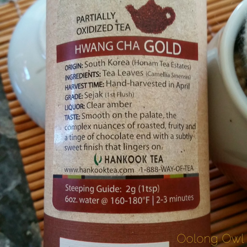 hwang cha gold korean tea - oolong owl tea review (2)
