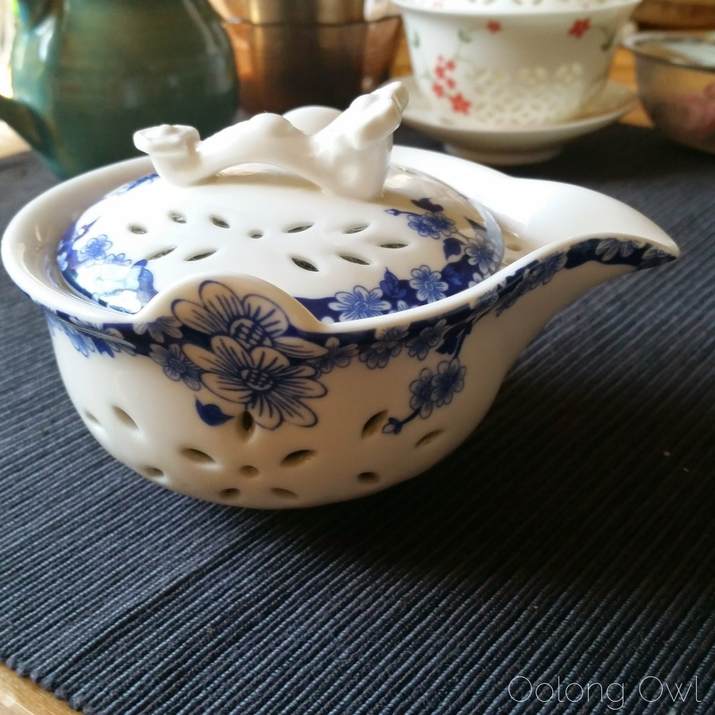 rice pattern gaiwan oolong owl teaware (1)