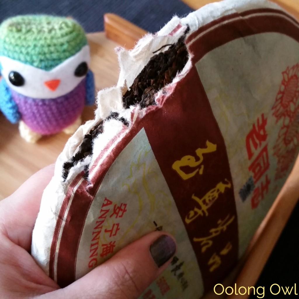 2010 Haiwan Peerless Ripe puer - oolong owl tea review (2)