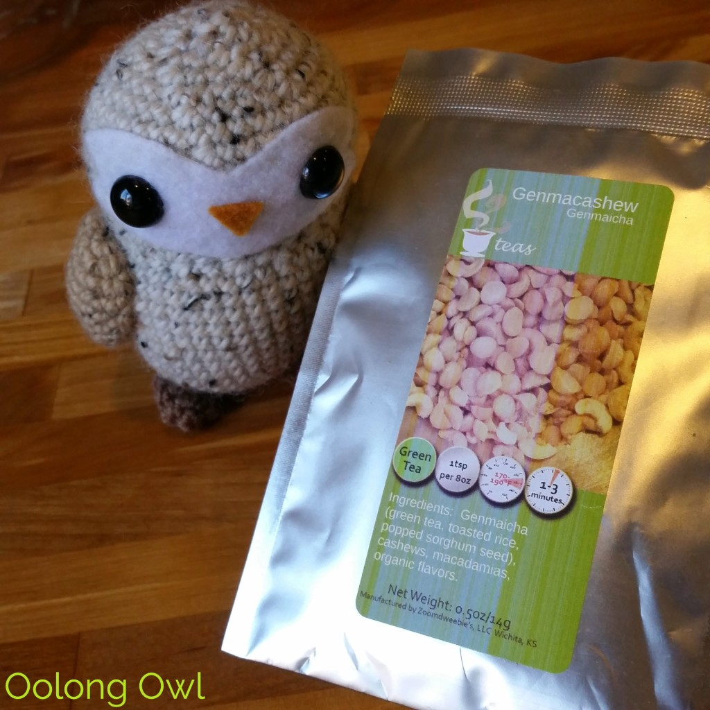 Genmacashew genmaicha - 52 tea - oolong owl tea review (1)