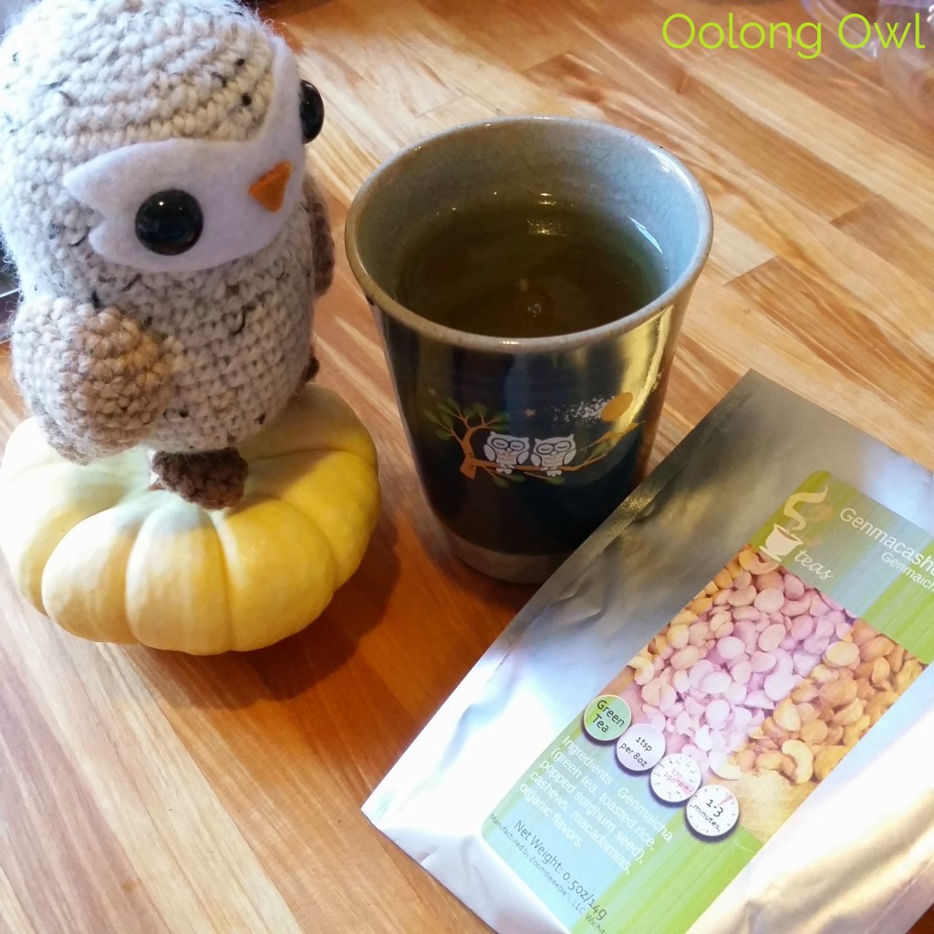 Genmacashew genmaicha - 52 tea - oolong owl tea review (5)