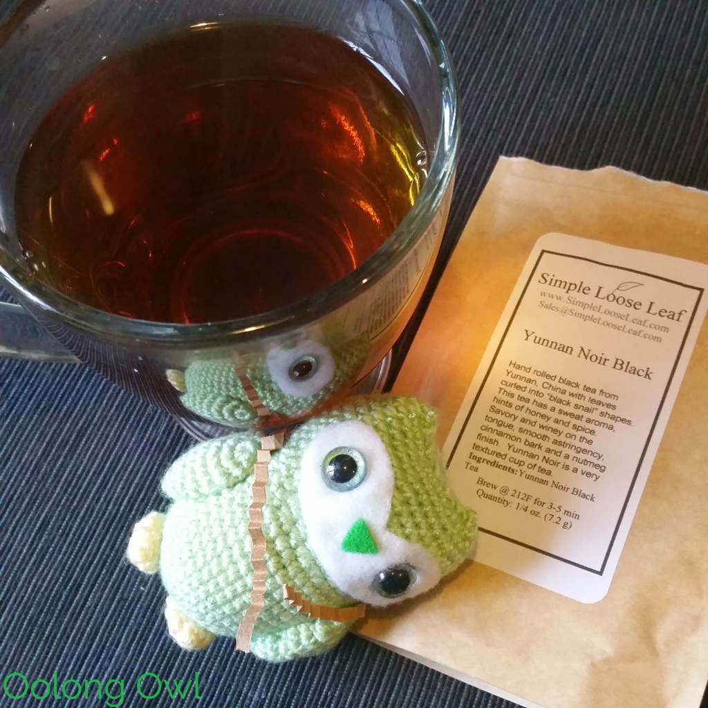 December simple loose leaf tea co-op oolong Owl (3)