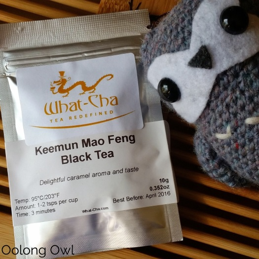 Keemun Mao Feng Black tea from What-cha - Oolong Owl Tea Review (1)
