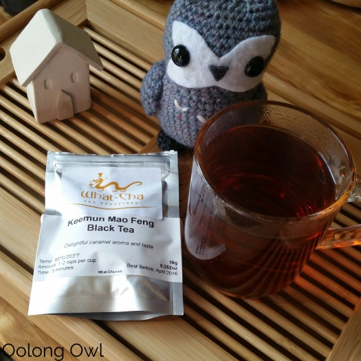 Keemun Mao Feng Black tea from What-cha - Oolong Owl Tea Review (3)