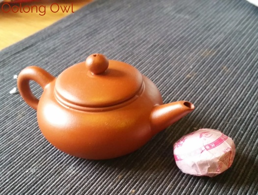 tiny yixing tea pot - Oolong Owl (6)