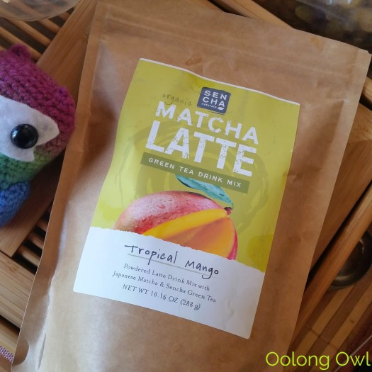 Sencha Naturals - Tropical Mango Green Tea Latte Mix - Oolong Owl Tea Review (1)