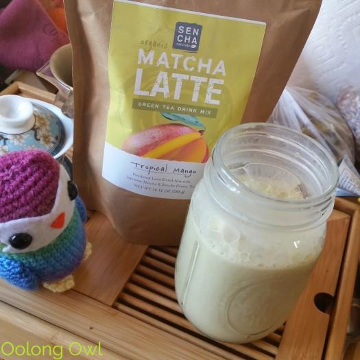 Sencha Naturals - Tropical Mango Green Tea Latte Mix - Oolong Owl Tea Review (4)