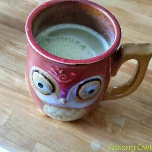 Sencha Naturals - Tropical Mango Green Tea Latte Mix - Oolong Owl Tea Review (5)