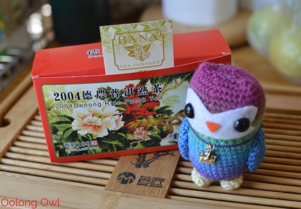 2004 Denong Ripe Puer from Bana Tea Company - Oolong Owl Tea Review (2)