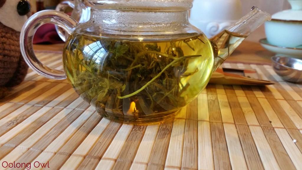 Roasted Jiaogulan dragon pearls form MK tea co - Oolong Owl Tea Review (5)