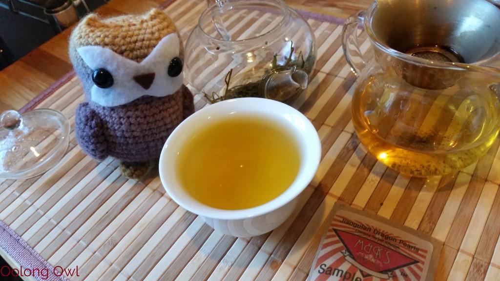 Roasted Jiaogulan dragon pearls form MK tea co - Oolong Owl Tea Review (8)