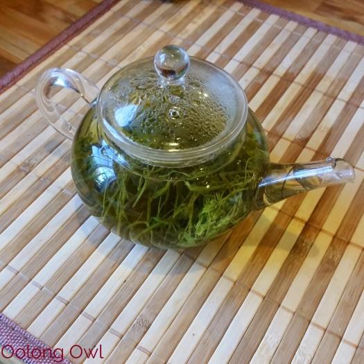 Roasted Jiaogulan dragon pearls form MK tea co - Oolong Owl Tea Review (9)