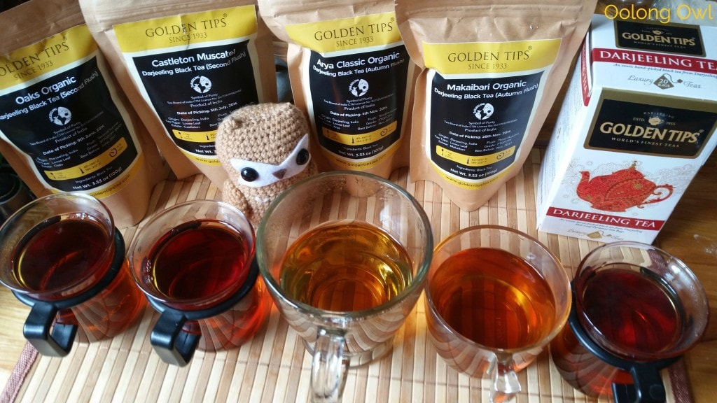 Golden Tips tea darjeeling comparison - oolong owl tea review