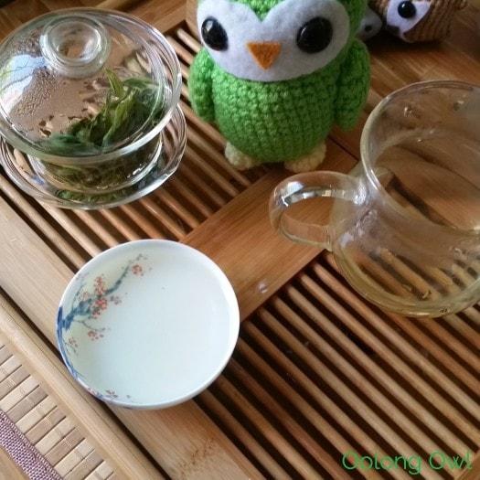 nine lotus green tea from Mandala Tea - Oolong Owl Tea Review (7)