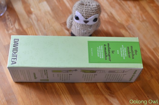 DAVIDsTea Matcha Maker - Oolong Owl Tea Review (1)