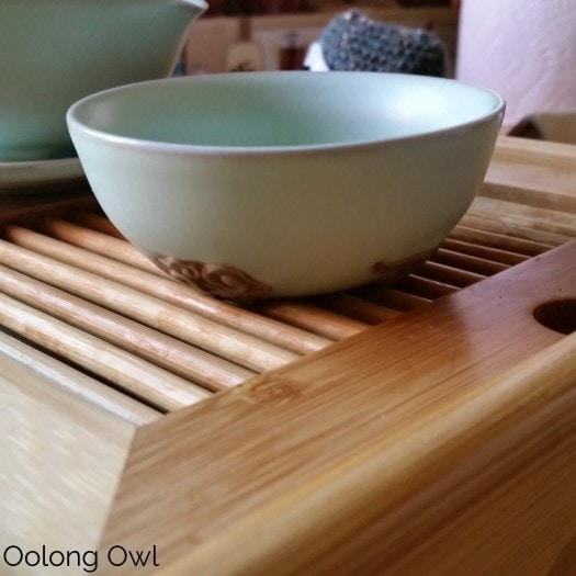 Gaiwan and Tea pet June 2015 - Oolong Owl (12)
