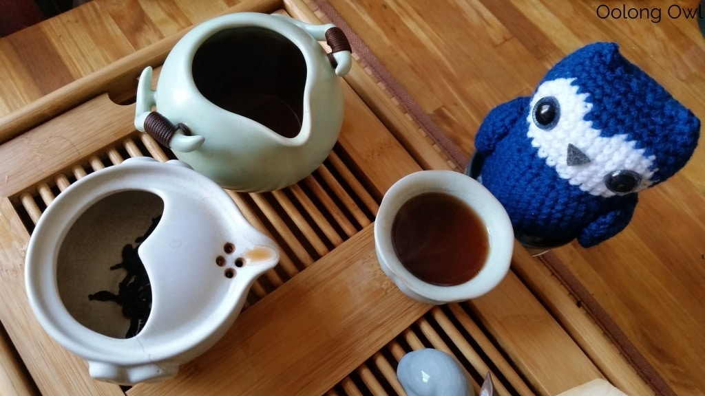 Mandala Tea 2014 Temple Stairs Ripe Puer - Oolong Owl Tea Review (5)