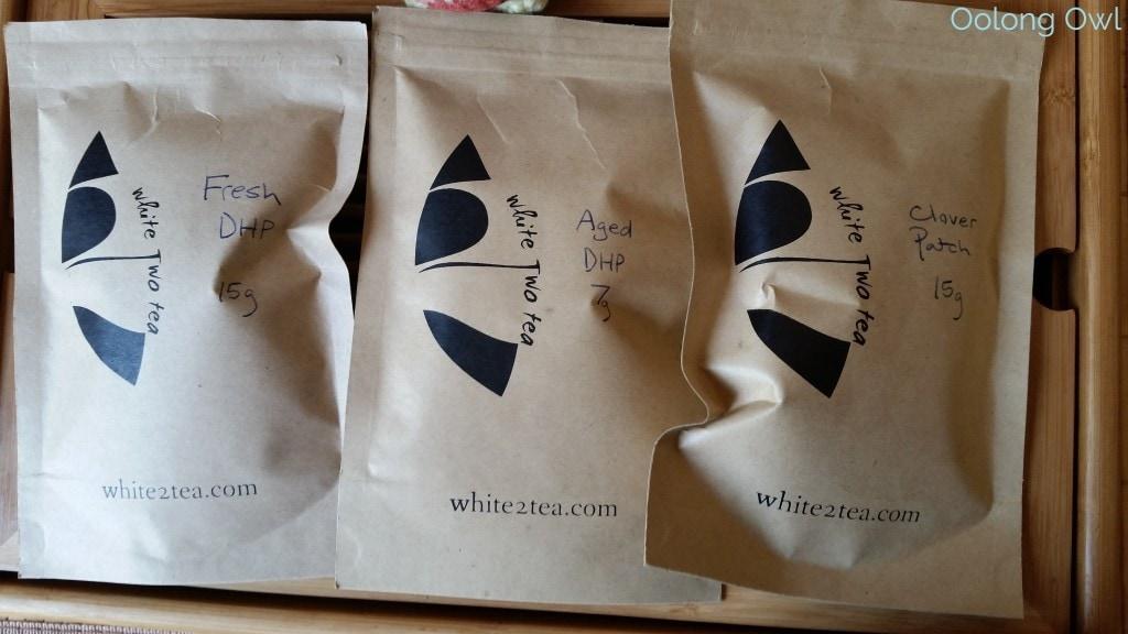 August White2Tea Club Dahongpao clover oolong - Oolong Owl (2)