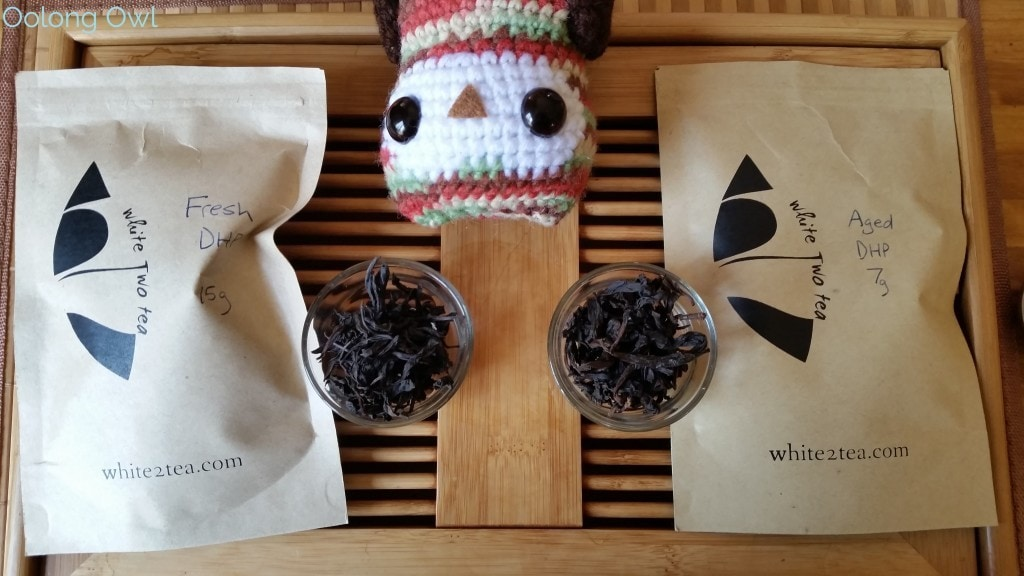 August White2Tea Club Dahongpao clover oolong - Oolong Owl (3)