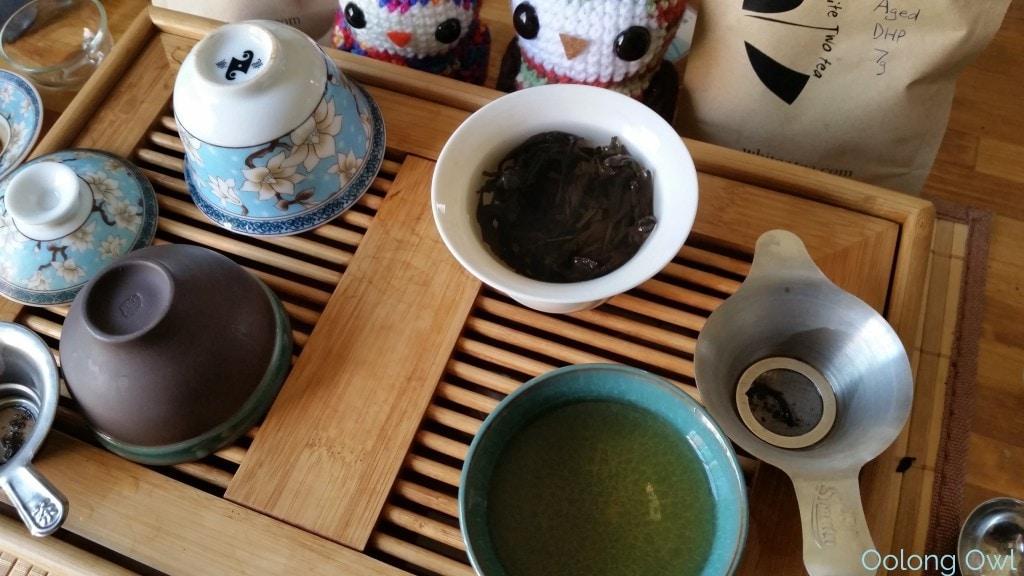 August White2Tea Club Dahongpao clover oolong - Oolong Owl (7)