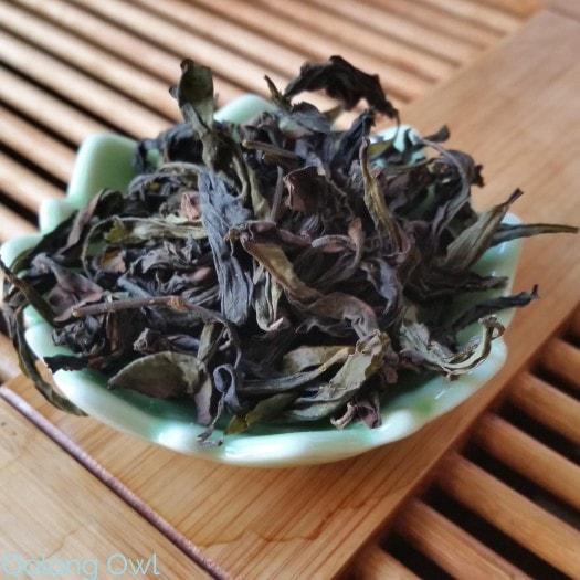 August White2Tea Club Dahongpao clover oolong - Oolong Owl (8)