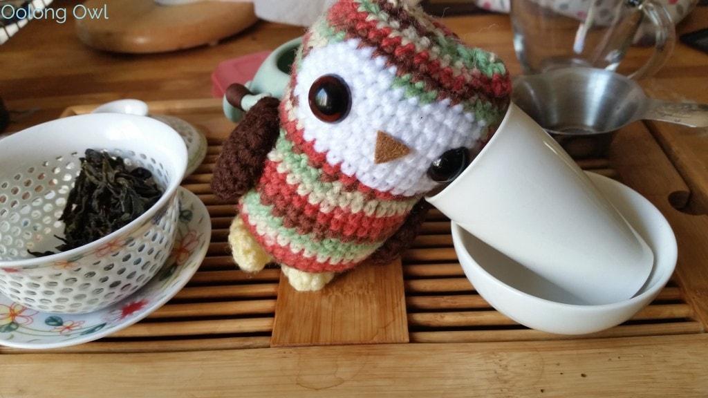 August White2Tea Club Dahongpao clover oolong - Oolong Owl (9)