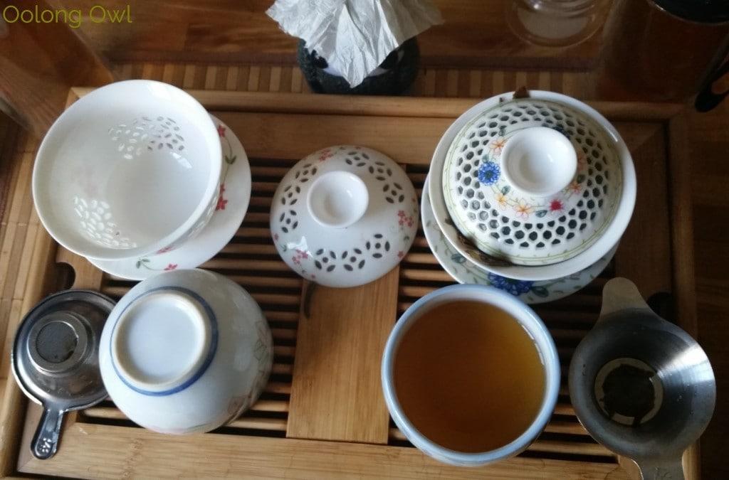 Crimson Lotus 2014 2015 Jingmai Sheng Pu'er Comparison - Oolong Owl Tea Review (18)