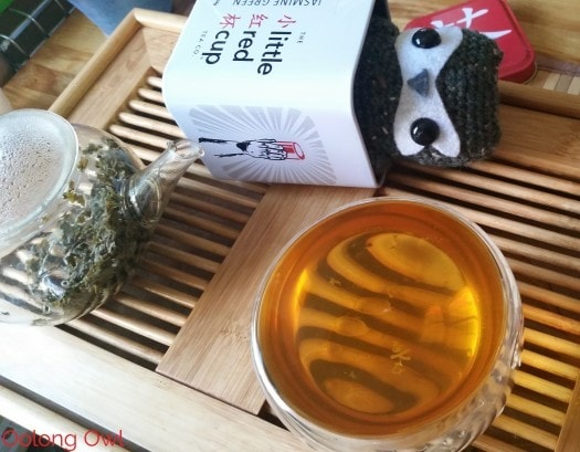 Jasmine Green Tea from Little Red Tea Cup Co - Oolong Owl (6)