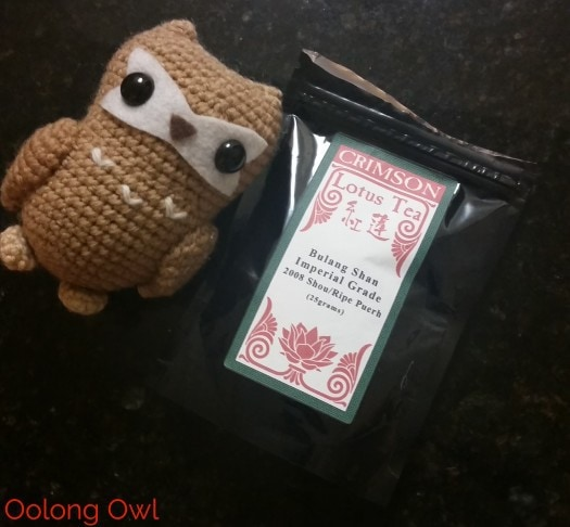 2008 bulang from Crimson Lotus Tea - Oolong Owl (1)