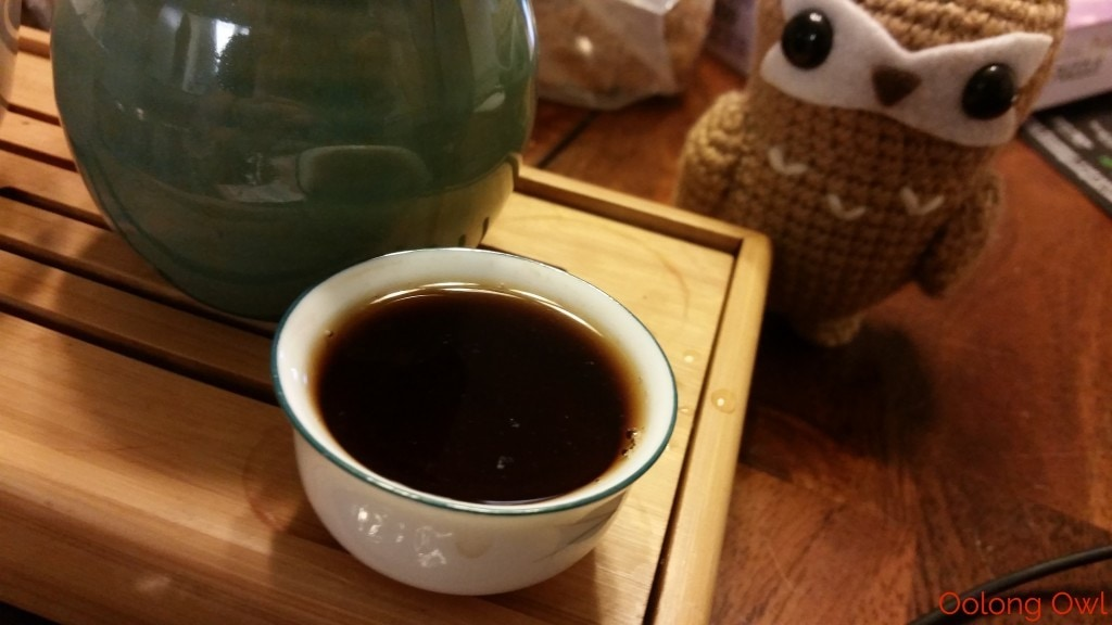 2008 bulang from Crimson Lotus Tea - Oolong Owl (7)