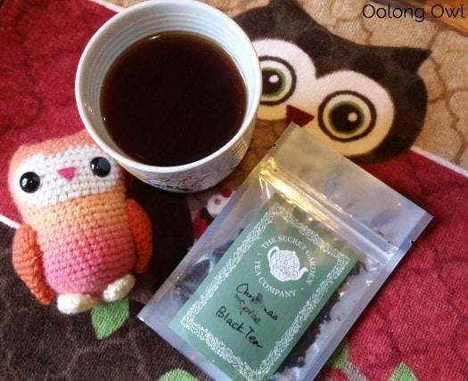 Christmas spice from secret garden tea - oolong owl tea review (3)