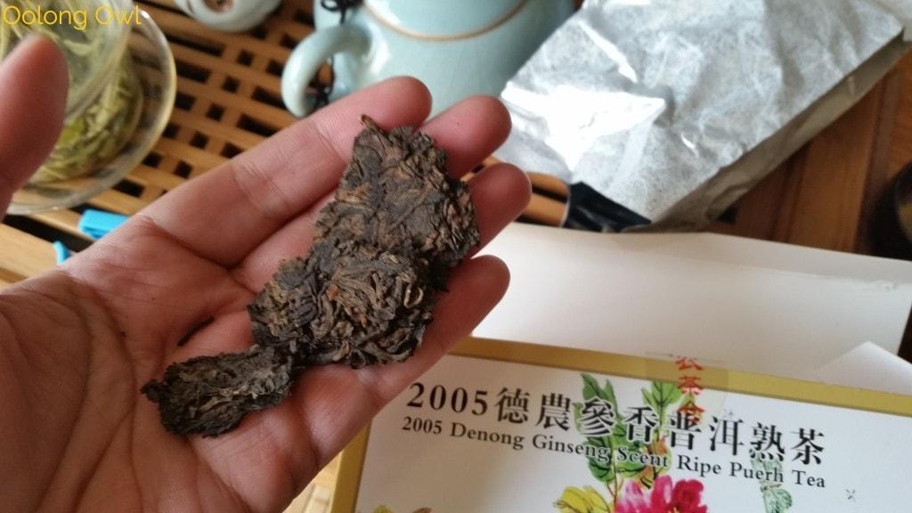 2005 denong ginseng scent - bana tea company - oolong owl tea review (1)