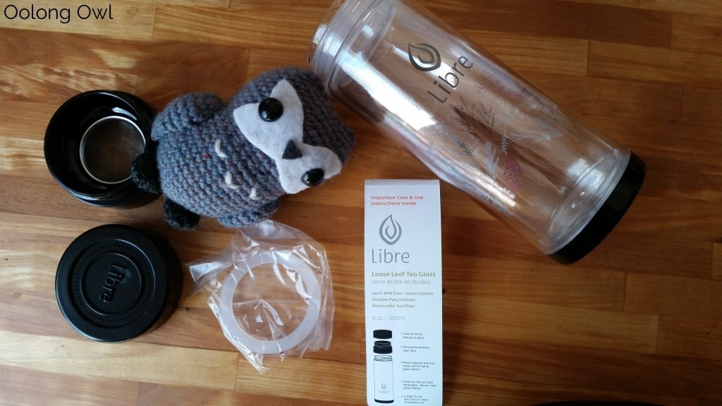 Libre Tea Infuser - Oolong Owl Teaware review (3)