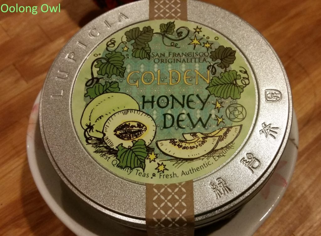 Lupicia Honeydew melon rooibos - oolong owl (1)