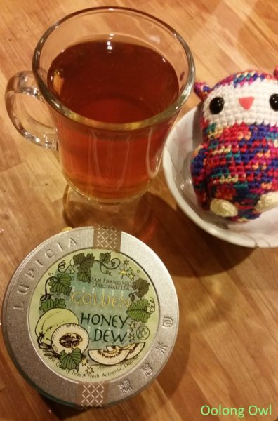 Lupicia Honeydew melon rooibos - oolong owl (5)