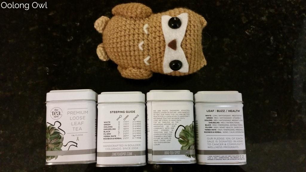 The Tea Spot Connoisseur Collection - Oolong Owl Tea Review (3)